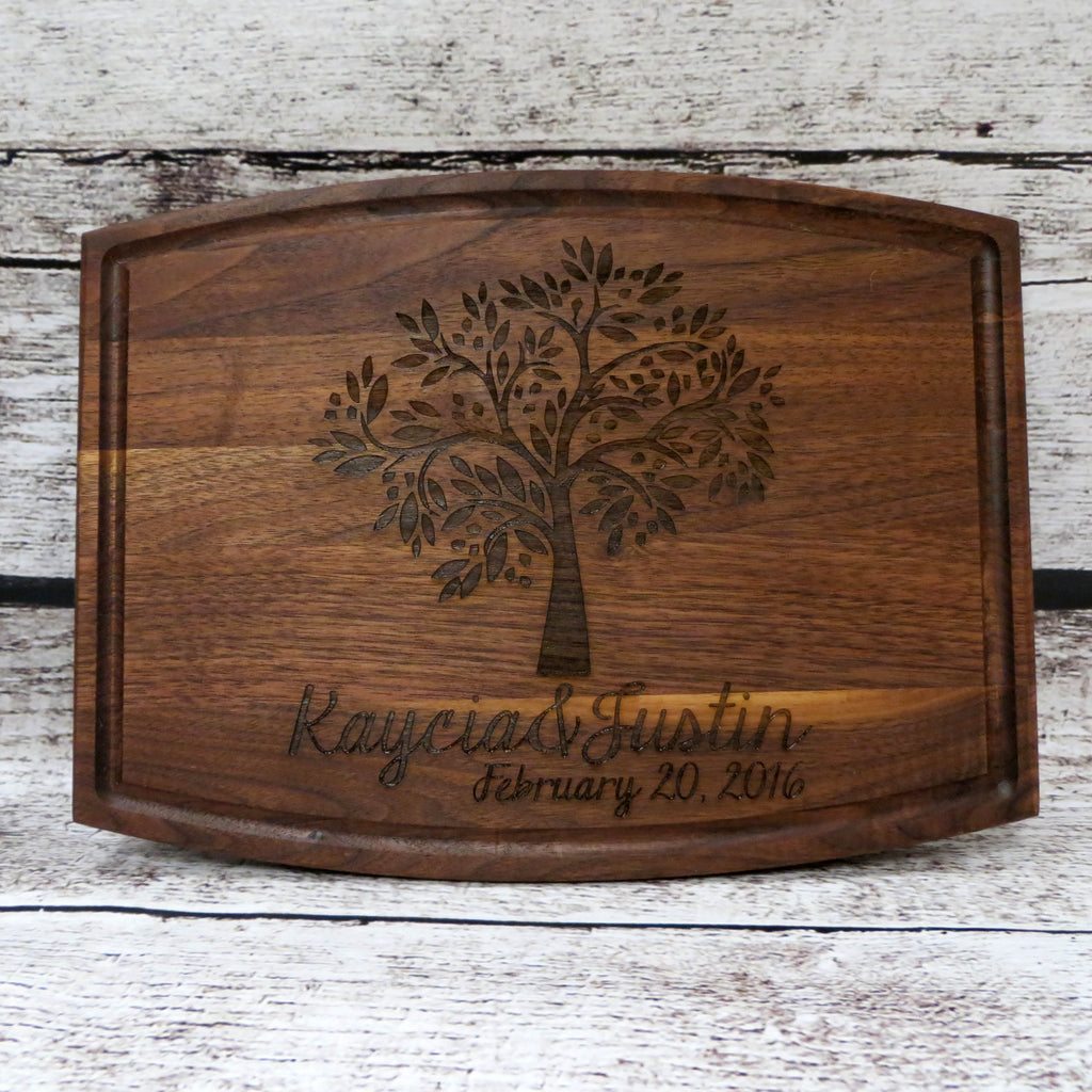 Tree Of Life Personalized Cutting Board Donebetter
