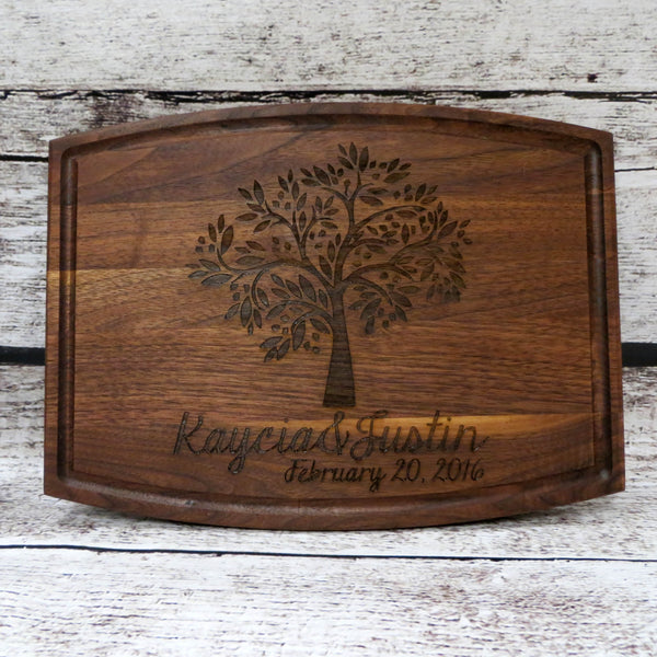Tree of Life Personalized Cutting Board