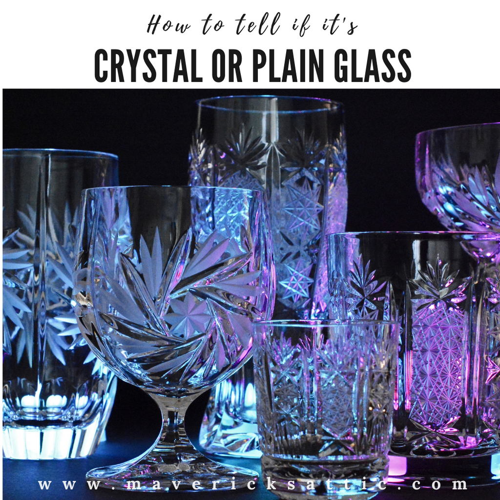 How to Tell if it's Crystal or Plain Glass