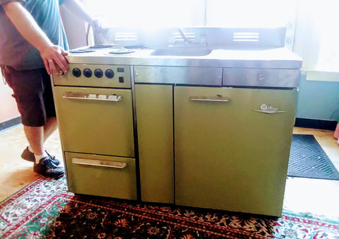 Vintage Kitchen Rangette