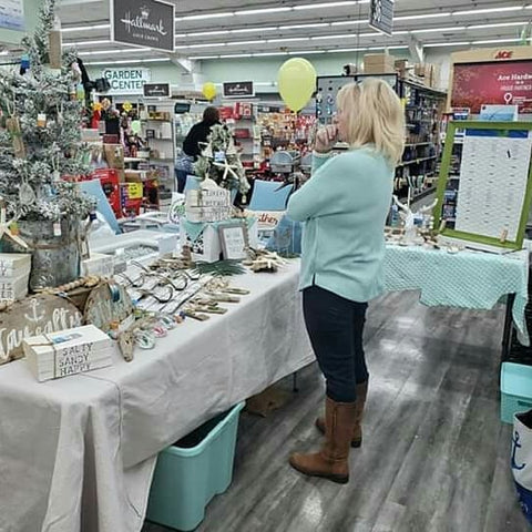Ladies Night Ace Hardware - Ocean City, Maryland - Maverick's Attic Vintage Co.