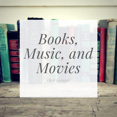 Books, Music, and Movies