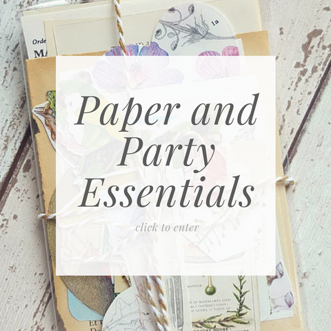 Paper and Party Essentials