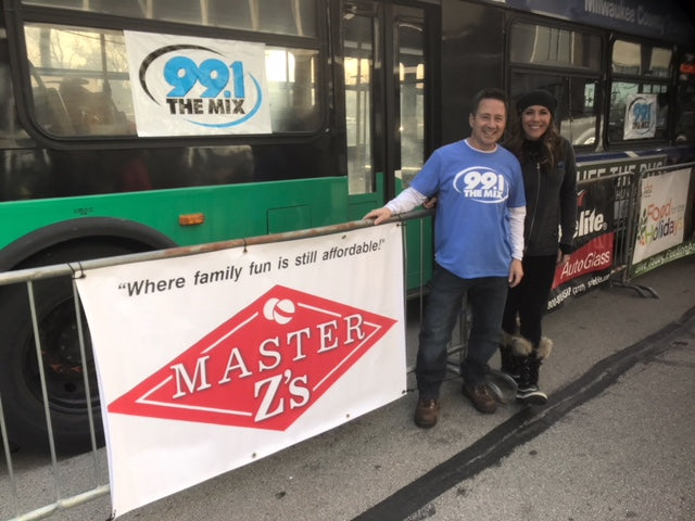 Master Z's is a proud sponsor of Stuff the Bus with 99.1 The Mix