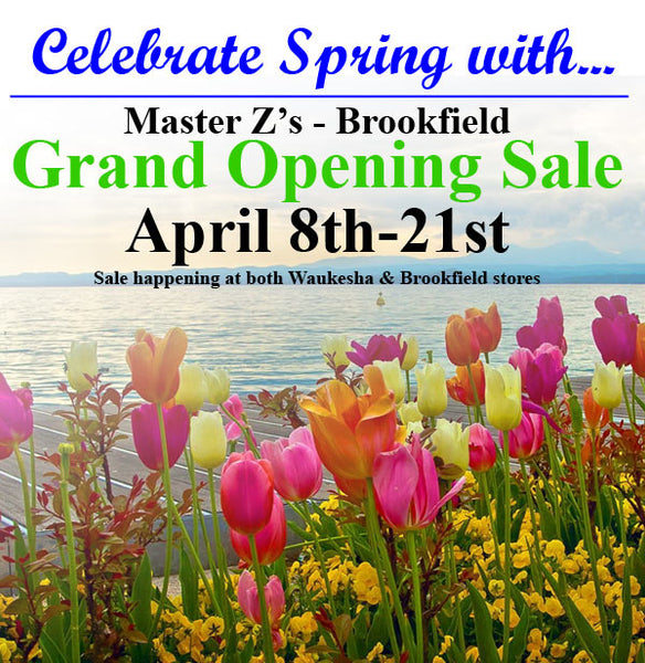 Grand Opening Sale - April 8th-21st