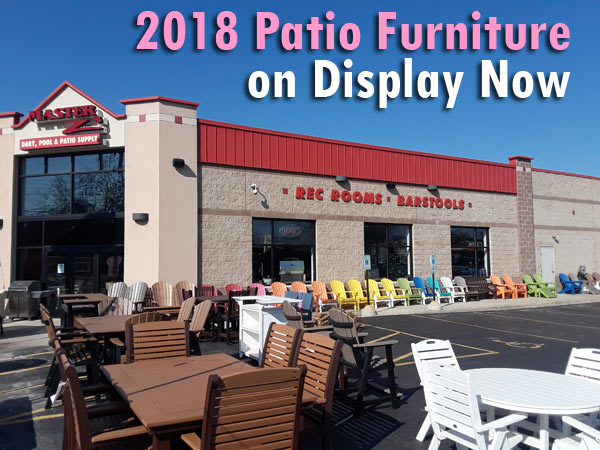 Spring into March with New Patio Furniture!