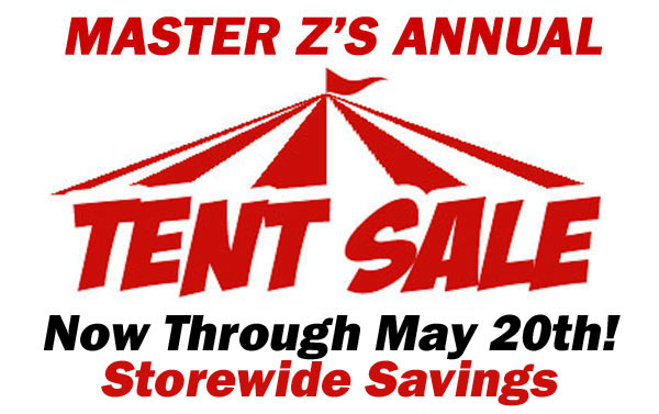 Tent Sale Starts Today!