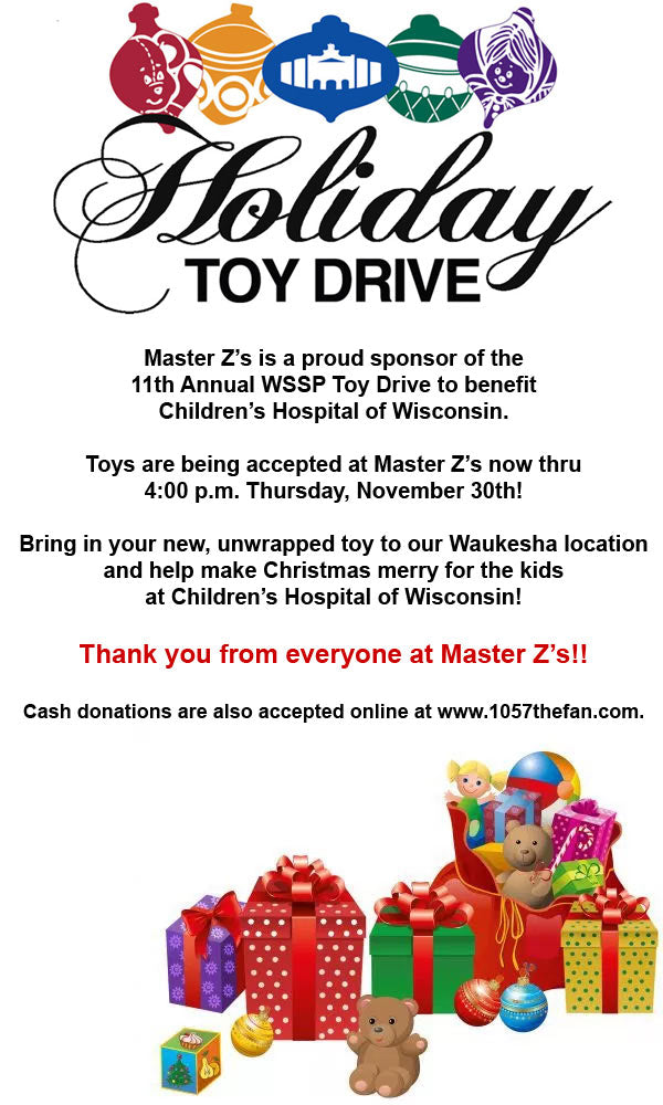 Toy Drive Going on Now!
