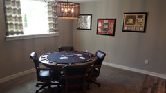 milwaukee poker table