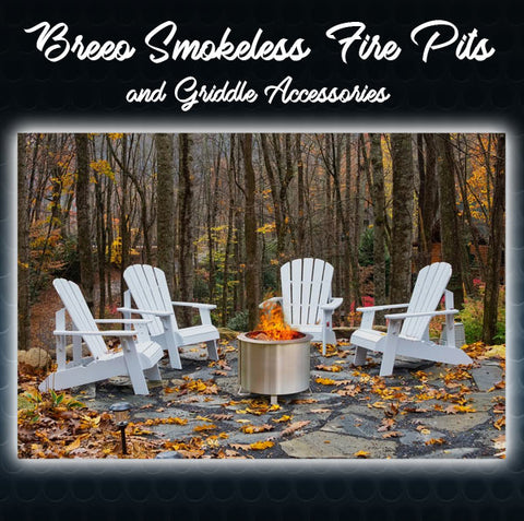 Breeo Smokless Fire Pits