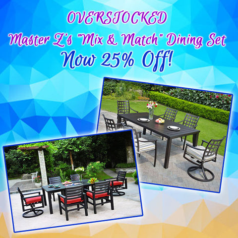 Mix and Match Dining Set - 25% Off