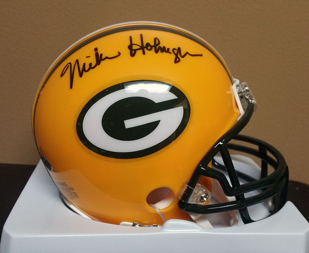 Mike Holmgren Green Bay Packers Signed Mini Helmet