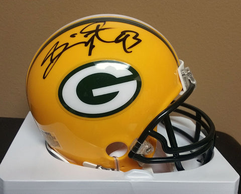 Gilbert Brown Green Bay Packers Signed Mini Helmet