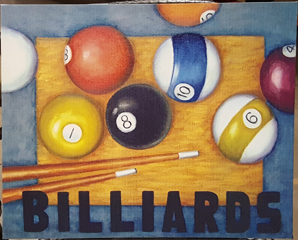 Billiards Artwork