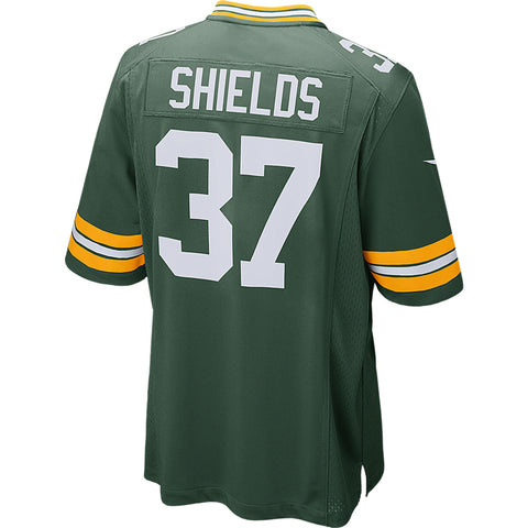 Sam Shields Green Bay Packers Unsigned Green Jersey