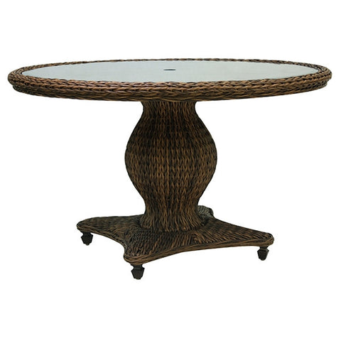 "Patio Renaissance Antigua Collection Outdoor 61"" Round Dining Table"