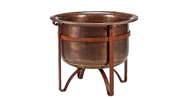 "Jatex ""Acadia"" Copper Fire Pit"