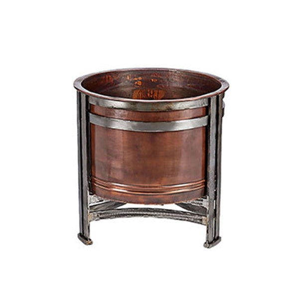 "Jatex ""Chicago"" Copper Fire Pit"