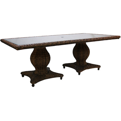 "Patio Renaissance Antigua Collection Outdoor 96"" Dining Table"