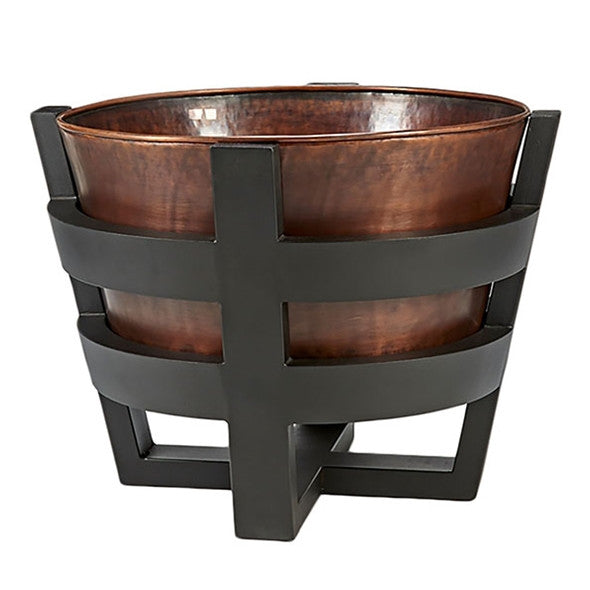 "Jatex ""Moonstone"" Copper Fire Pit"