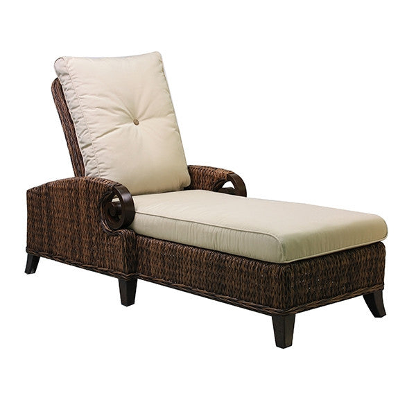 Patio Renaissance Antigua Collection Outdoor Adjustable Chaise Chair