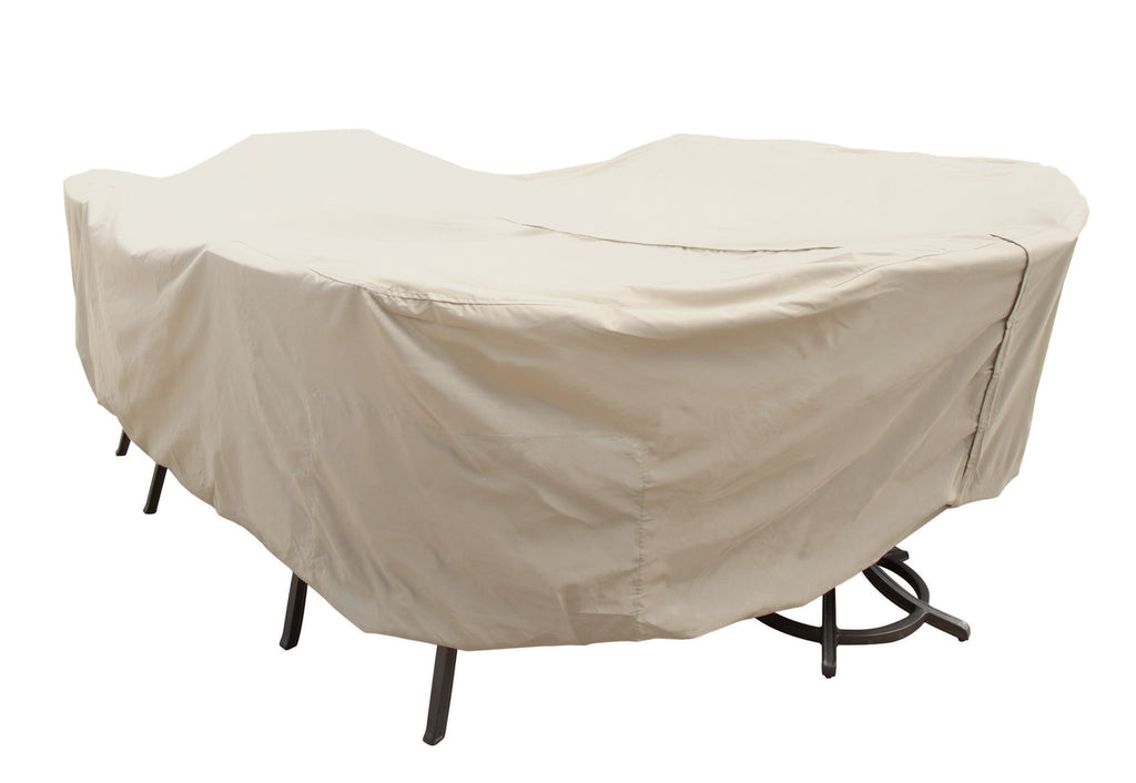 Cover for X-Large Oval/Rectangle Table & Chairs (Velcro)