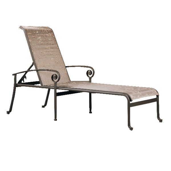 Patio Renaissance Caicos Collection Outdoor Adjustable Chaise