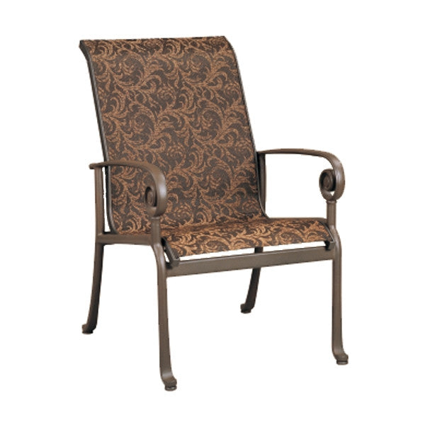 Patio Renaissance Caicos Collection Outdoor LB Dining Chair