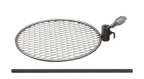 "Breeo ""Double Flame"" 17"" Grill with Post - Stainless Steel"