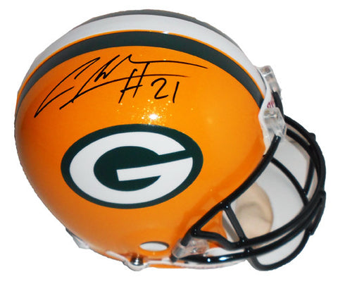 Charles Woodson Green Bay Packers Signed Full Size Replica Helmet