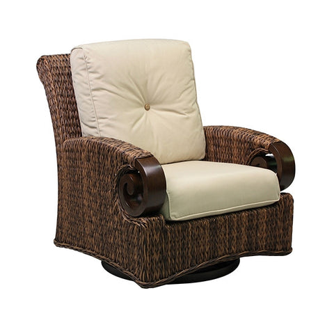 Patio Renaissance Antigua Collection Outdoor DS Swivel Glider