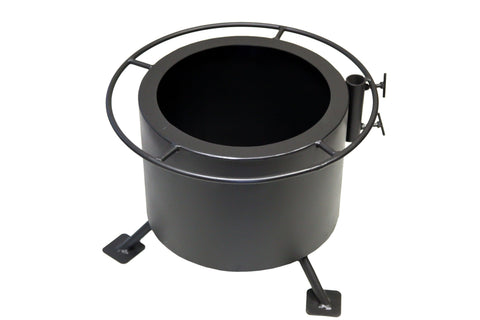 "Breeo ""Double Flame"" Smoke Less Fire Pit - Steel"
