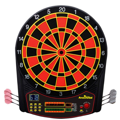 Arachnid Cricket Pro 450 Electronic Soft Tip Dartboard