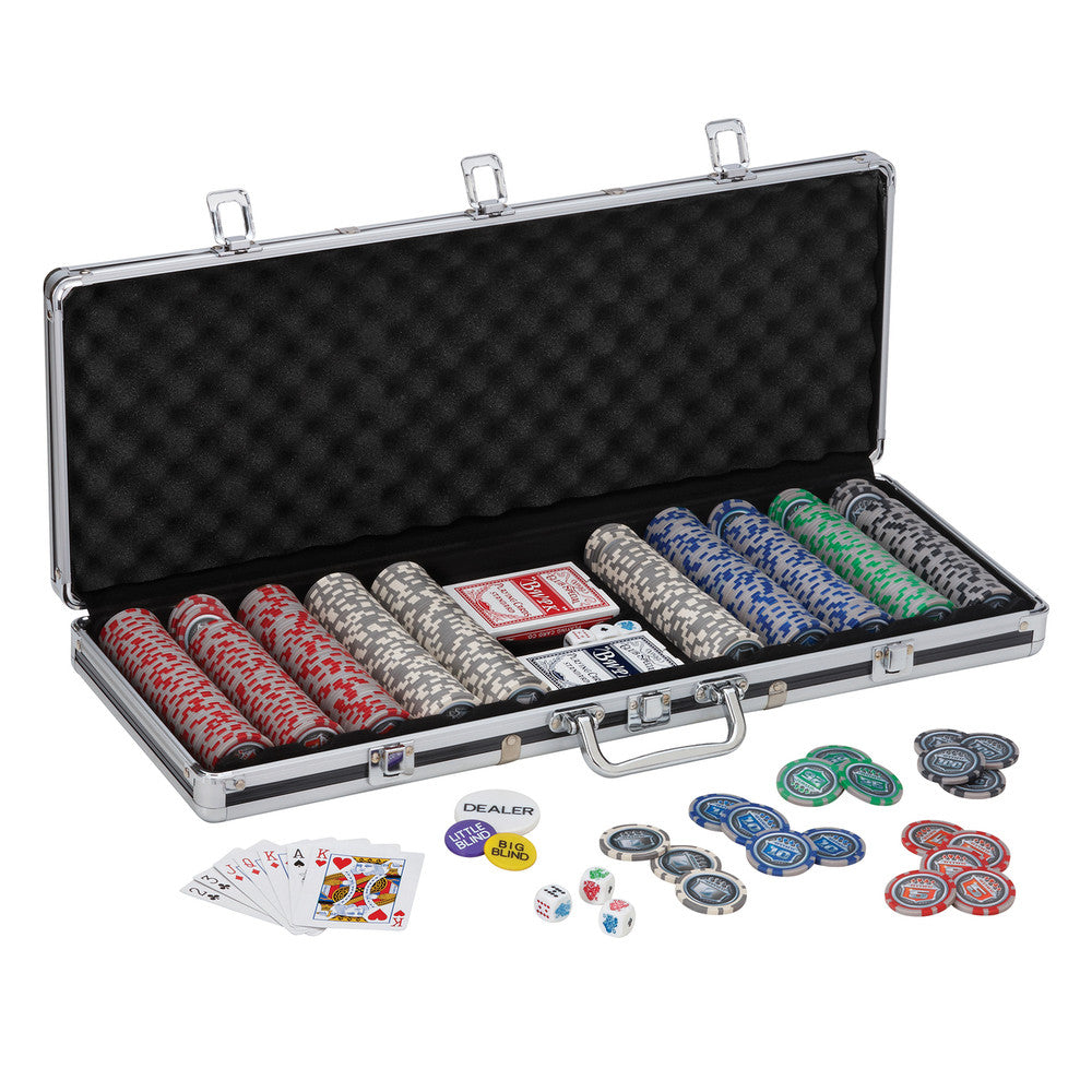 Bling 13.5 Grams 500ct Poker Chip Set