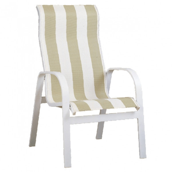 Patio Renaissance Aruba Collection Outdoor HB Dining Chair