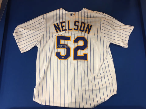 Jimmy Nelson Signed Retro Jersey
