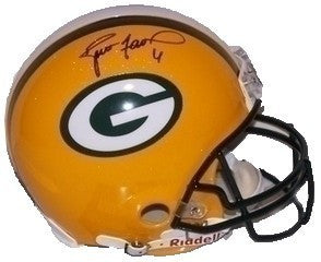 Brett Favre Green Bay Packers Signed Full Size Replica Helmet
