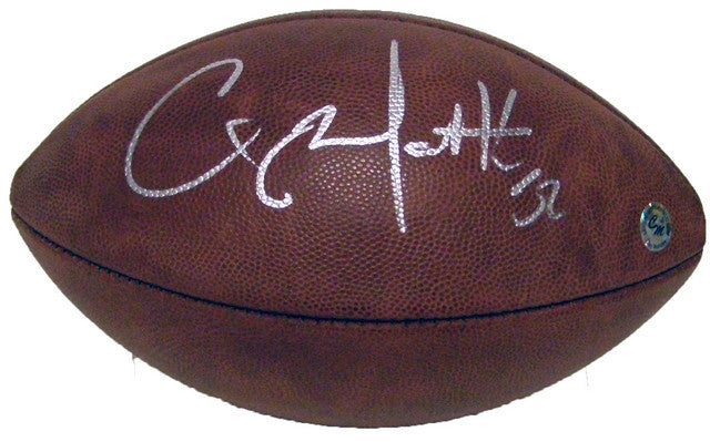 Clay Matthews Green Bay Packers Signed Duke NFL Football