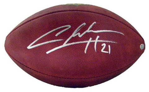 Charles Woodson Green Bay Packers Signed Duke NFL Football