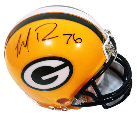 Mike Daniels Green Bay Packers Signed Mini Helmet