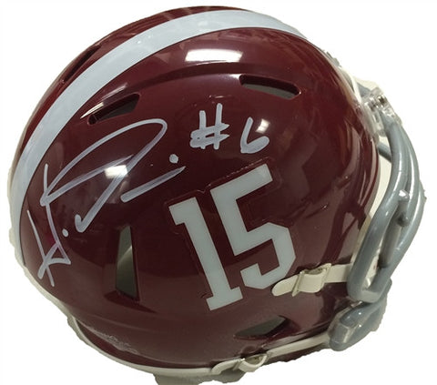 Haha Clinton-Dix Alabama Crimson Tide Signed Mini Helmet