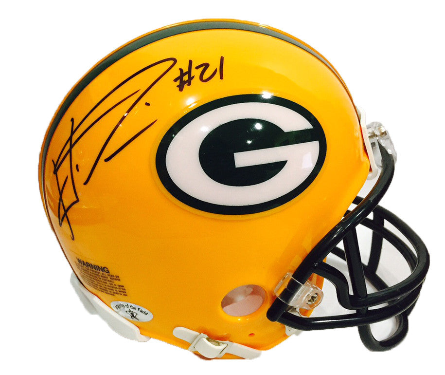 Haha Clinton-Dix Green Bay Packers Signed Mini Helmet