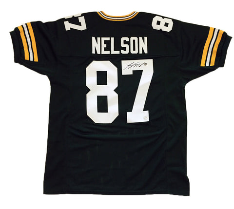 Jordy Nelson Green Bay Packers Signed Custom Green Jersey