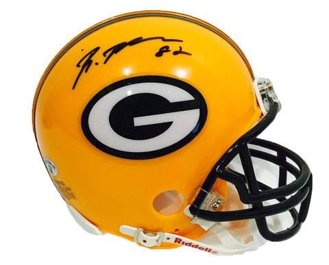 Richard Rodgers Green Bay Packers Signed Mini Helmet