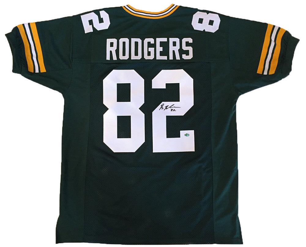 Richard Rodgers Green Bay Packers Signed Custom Green