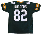 Richard Rodgers Green Bay Packers Signed Custom Green Jersey