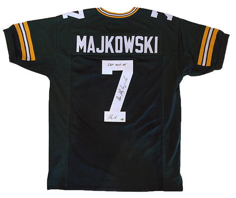 Don Majkowski Green Bay Packers Signed Custom Green Jersey