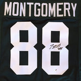 Ty Montgomery Green Bay Packers Signed Custom Green Jersey