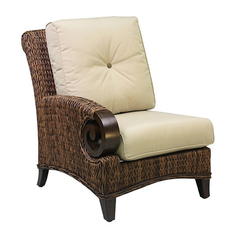 Patio Renaissance Antigua Collection Outdoor Left Corner Chair