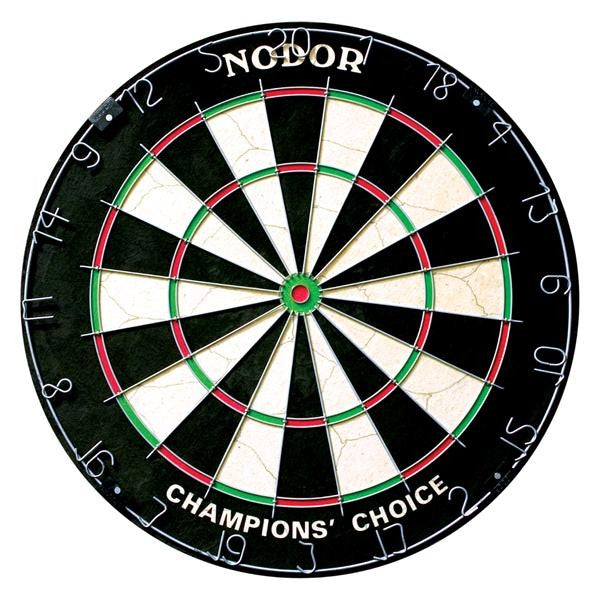 Nodor Champion's Choice Bristle Practice Steel Tip Dartboard